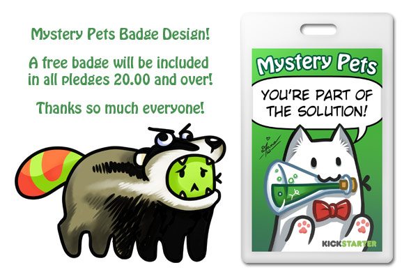 Free badges!
